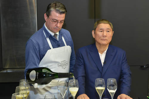 Takeshi Kitano - Champagne Laurent-Perrier - photo Michel Jolyot (9).jpg